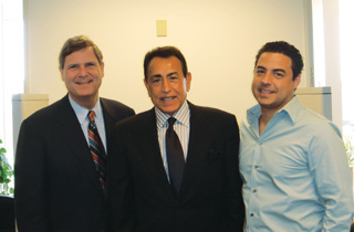 CEO Andrew Hanna with former California State Treasurer - Phil Angelides