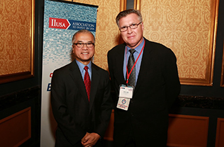 General Counsel Robert Labbe with former U.S. Ambassador - Gary Locke